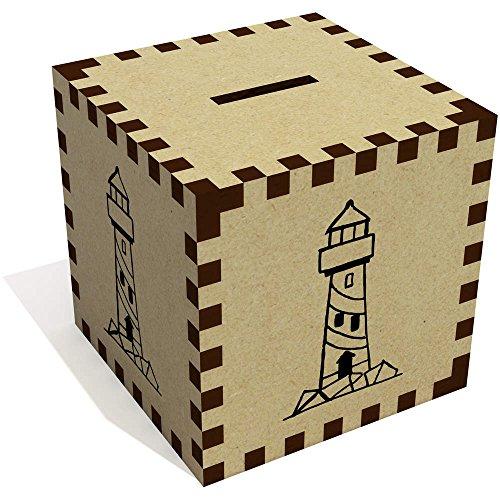Azeeda 'Leuchtturm' Sparbüchse / Spardose (MB00039407)