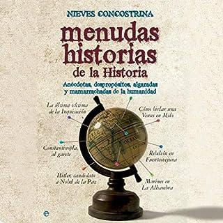 Couverture de Menudas historias de la historia [Wicked History Stories]