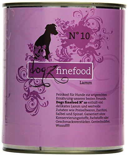 Dogz finefood hondenvoer No.10 Lamm 800 g, 6-pack (6 x 800 g)