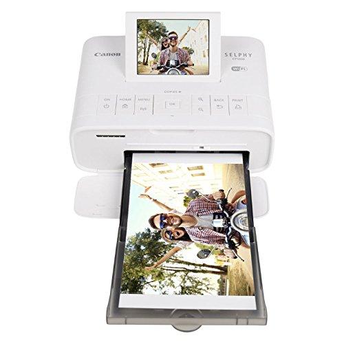 Canon impresora de fotos Selphy CP1300inalámbrico compacto con AirPrint y dispositivo mopria impresión