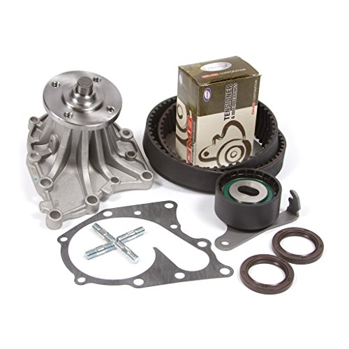 Compatible With 86-92 Toyota Turbo 3.0 DOHC 24V 7MGE 7MGTE Timing Belt Kit Water Pump