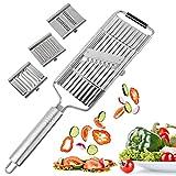 Multi-Purpose Vegetable Slicer,Stainless Steel Shredder Cutter Grater...