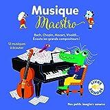 Musique Maestro! : 12 Musiques à Écouter (Livre Sonore)- Dès 1 an