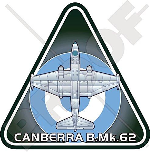 Engels Elektrische CANBERRA B.Mk.62 ARGENTINA Argentijnse luchtmacht FAA Vliegtuig Vinyl Sticker, Decal 3.7