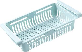 Panier de rangement pour réfrigérateur coulissant Matériau Pp Support de rangement pour compartiment frais Conception exte...