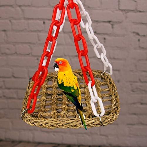 Manual Bird Parrot Toy Swing Popular standard Sp Bridge Hammock Braid Suspension outlet