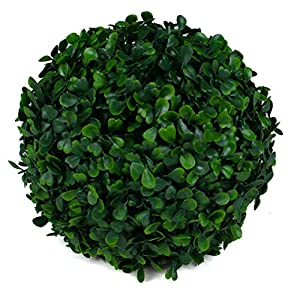 3rd Street Inn Topiary Ball – Artificial Topiary Plant – Wedding Decor – Indoor/Outdoor Artificial Plant Ball – Topiary Tree Substitute