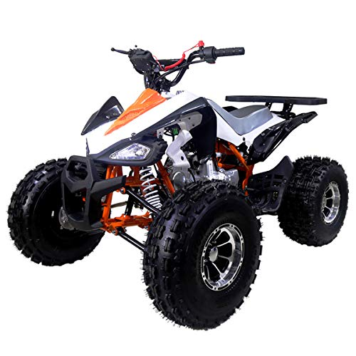 X-Pro 125cc ATV 4 Wheeler Kids ATV Quad Youth ATVs Quads 125cc ATVs with Gloves, Goggle and Handgrip