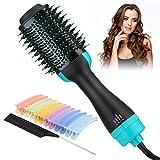 Hot Air Brush, Hair Dryer Brush, 4-IN-1 Professional One Step Hair Dryer & Volumizer, Lightweight 1000 Watt...