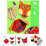 DJECO 599386031 - Iniciación al Origami. Animales