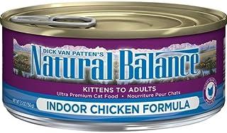Natural Balance Can Cat Indoor ChkFormula 5.5 oz Case 24