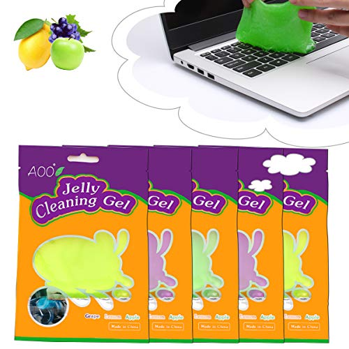 AOO Keyboard Cleaner Universal Cleaning Gel for PC Tablet Laptop Keyboards, Car Vents, Cameras, Printers, Calculators