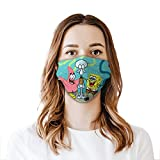 WXDGLL Sponge Bob Mouth-Muffle Adjustable Face Protection for Girl