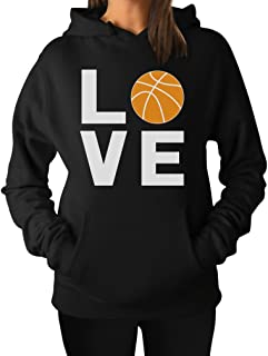 Love Basketball - Gift Idea for Basketball Fans/Player Cool Women Hoodie