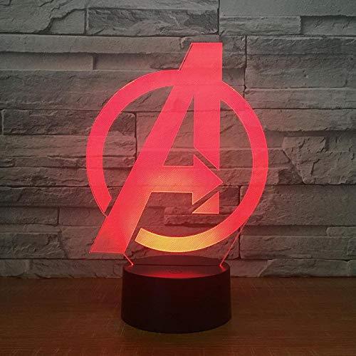 Jiushixw 3D acryl nachtlampje met afstandsbediening, kleur tafellamp, fabrikant kind, smart watch, creatief cadeau, tafellamp, schakelaar