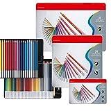 lapiceros SFBBBO Lápices de tiza pastel para colorear con mina de4,4 mm de diámetro - 12/24/36/48/60 colores Estuche de lata Set 36 colores