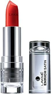 Lakme Enrich Satins Lip Color, Shade R352, 4.3g