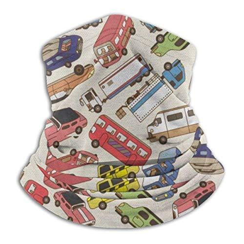 Jungenspielzeug LKW Fracht Auto Fleece Halswärmer-reversibler Halsmanschettenschlauch, Vielseitigkeit Ohrwärmer Stirnband für Männer und Frauen
