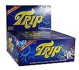 Trip 2 transparente Folletos de Celulosa transparente Papeles 1 Box (24x) {Trip2} papeles