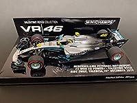 PMA 1/43 メルセデス AMG ペトロナス モータースポーツ W10 EQ Power+ Vロッシ 2019/12/10 バレンシア ライドスワップ