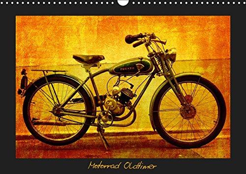 Motorrad Oldtimer (Wandkalender 2019 DIN A3 quer): Motorrad Veteranen (Monatskalender, 14 Seiten ) (CALVENDO Mobilitaet)