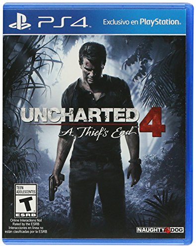Uncharted 4: A Thief's End – PlayStation 4 – Standard Edition