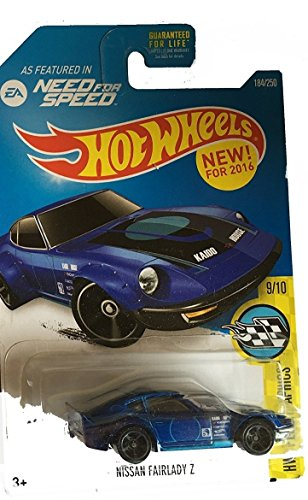 Hot Wheels 2016 HW Speed Graphics, Need for Speed Nissan Fairlady Z 184/250, Blue
