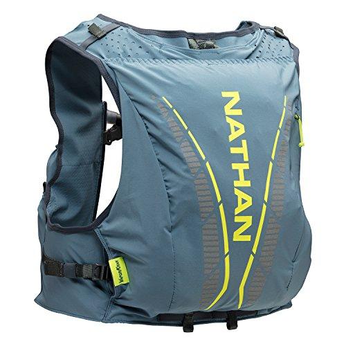Nathan NS4536 Vaporkrar Hydaration Pack Running Vest with 1.8L Bladder, Blue Stone, Medium