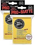 Ultra Pro Pro-Matte (100Count) Yellow Deck...