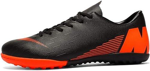 LYLZR Chaussures de Football pour Hommes Sport Crampons d'extérieur Crampons d'extérieur Crampons d'entraîneHommest Bottes de Soccer