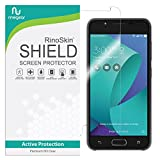 RinoGear Asus Zenfone V Live Screen Protector Case Friendly Screen Protector for Asus Zenfone V Live Accessory Full Coverage Clear Film