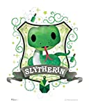 MightyPrint Harry Potter – Wall Art – Slytherin – Officially Licensed Wall – NOT Made of Paper – Strong Reusable Décor for Kid Baby Nursery Dorm – by Trend Setters Ltd.