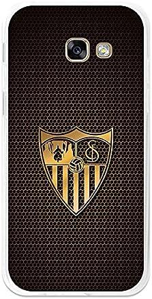 09adeb5a9b4 BeCool Funda Gel Flexible Sevilla FC para Samsung Galaxy A7 2017 - Carcasa  TPU Licencia Oficial