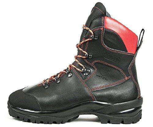 Oregon Schnittschutzstiefel WAIPOUA Schnittschutzklasse 1 schwarz/rot Größe 44
