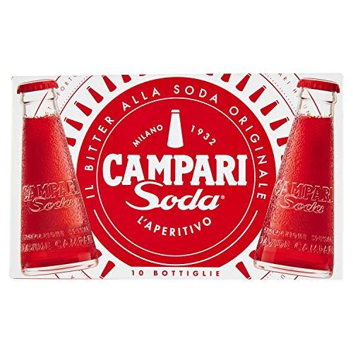 Campari Aperitivi alcolici, Pacco da 10 x 100 ml