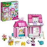 LEGO 10942 Duplo Disney Casa y Cafetería de Minnie Mouse, con Cocina de Juguete para Construir para Niños y Niñas 2 Años