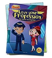 Chhota Bheem - Love Your Profession : Fun Sticker Activity Book