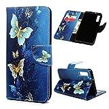 Samsung Galaxy A7 2018 Case Flip PU Leather Phone Wallet