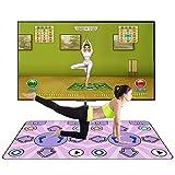 CRJT Shop Double Dance Blanket, kabellose somatosensorische 3D-Yoga-Spieltanzmaschine HD-TV-Computer mit doppeltem Verwendungszweck Geeignet für Eltern-Kind-Spiele -