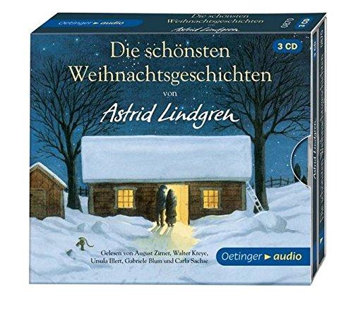 Die schönsten Weihnachtsgeschichten: von Astrid Lindgren (3 CD): Lesungen mit Musik