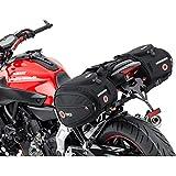 QBag Motorrad-Satteltaschen Satteltaschen Motorrad Gepäck Satteltaschenpaar Motorradgepäck, 22...