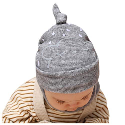 Kleinkind Baby Mütze Mütze Schal Set Winter Häkel Strickmütze Mütze Weiche bequeme warme Schnee Ski Cap Cuffed Hat