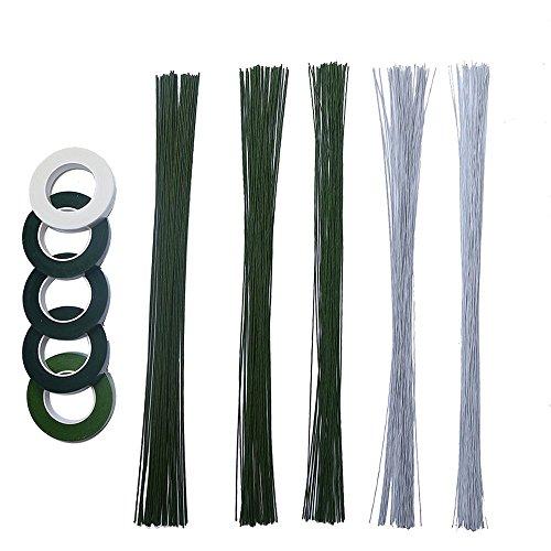Juego de 10 piezas de cinta adhesiva floral CCINEE para ramos de...