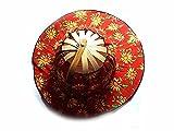 Sombrero abanico Art 1 doble uso plegable de bolso abierto 35 cm de diámetro, abierto poco abanico x cálido hombre unisex con talla única Made in Italy Max de regalo llavero