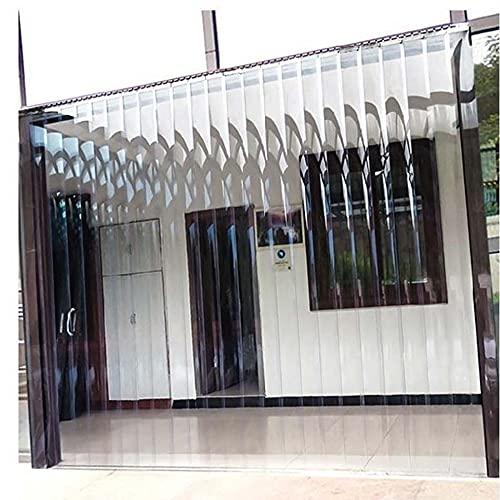 Kit de cortina de tiras de PVC, cortina de puerta de plástico...