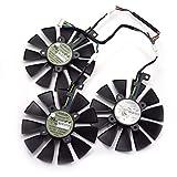 T129215SU Cooler Fan for ASUS Strix RX480 RX 580 GTX 980Ti R9 390 390X GTX 1060 1070 1080 1070Ti 1080Ti Graphic Card Cooling Fan (T129215SU-Lot)