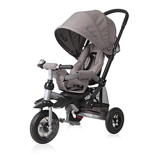 Lorelli 10050360006 - Triciclo evolutivo Jet Air con ruedas hinchables, color beige