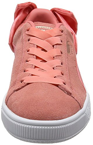Puma Suede Bow Wn's, Zapatillas Mujer, Rosa (Shell Pink-Shell Pink), 39 EU