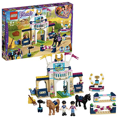 LEGO 41367 Friends Stephanie's Horse Jumping Playset, Mini-dolls and...