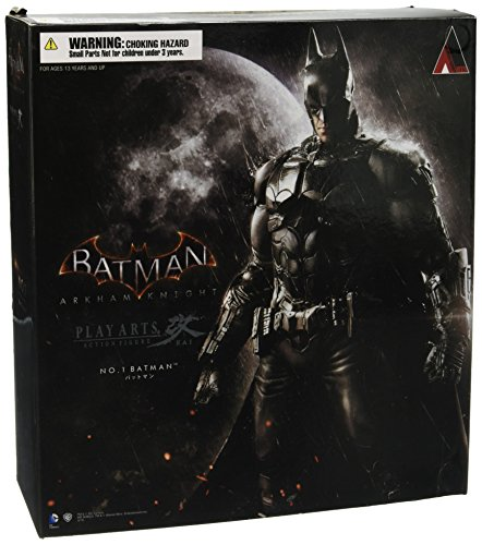 DC Comics Batman Arkham Knight Play Arts Kai Batman Action Figurine